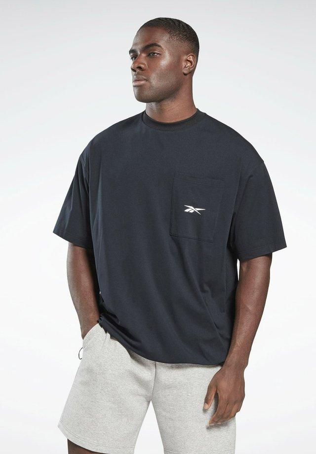 VECTOR POCKET T-SHIRT - T-shirt basic - black