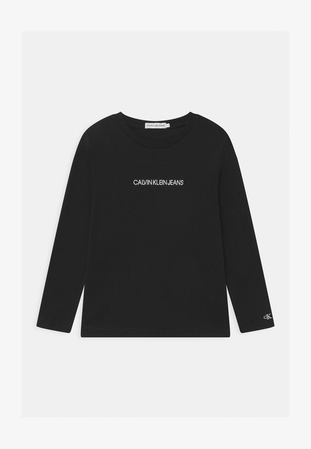 SMALL INSTITUTIONAL - Long sleeved top - black