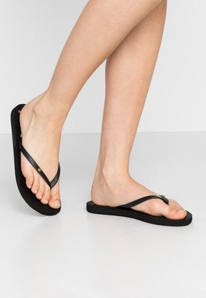 SANDY  - Chanclas de dedo - black/multicolor