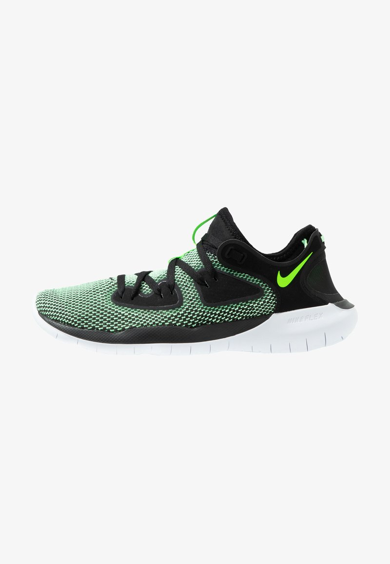 Nike Performance - FLEX 2019 RN - Minimalist running shoes - black/electric green/vapor green/white