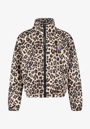 Light jacket - multicolor brown