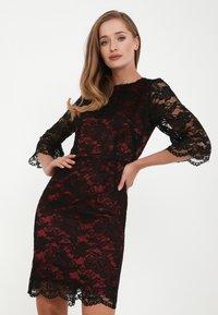 Madam-T - ANTANIDA - Cocktail dress / Party dress - schwarz - 0