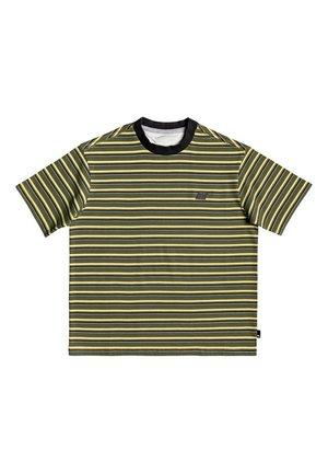 QUIKSILVER™ TABIRA - T-SHIRT FÜR JUNGEN 8-16 EQBKT03262 - Print T-shirt - kalamata tabira