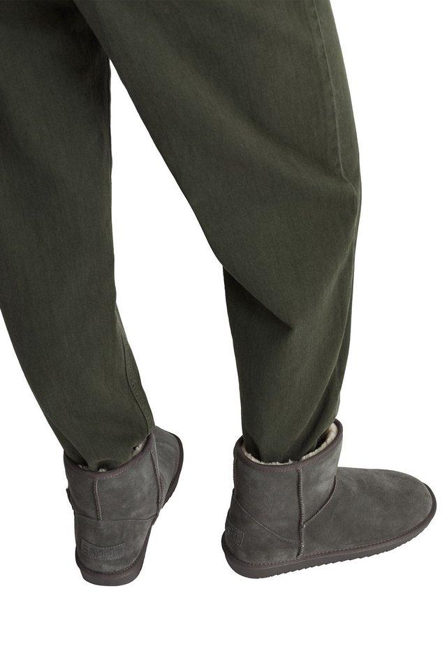 LUNA MID BOOTIE - Støvletter - light grey