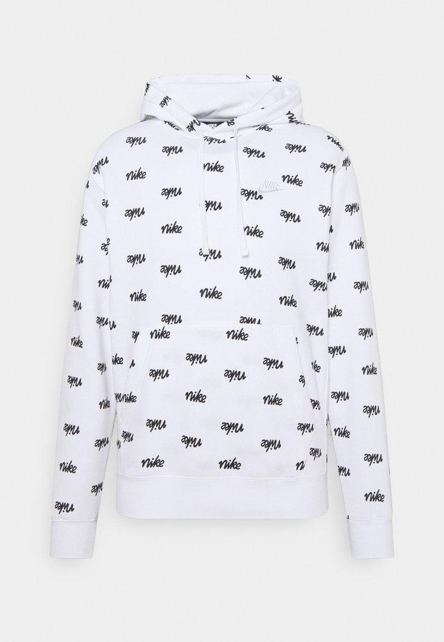 CLUB HOODIE  - Felpa con cappuccio - white