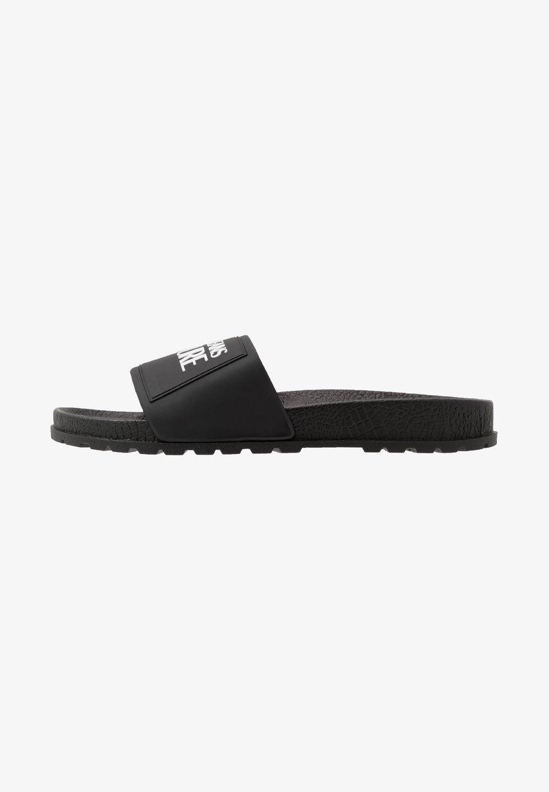 Versace Jeans Couture - Klapki - black