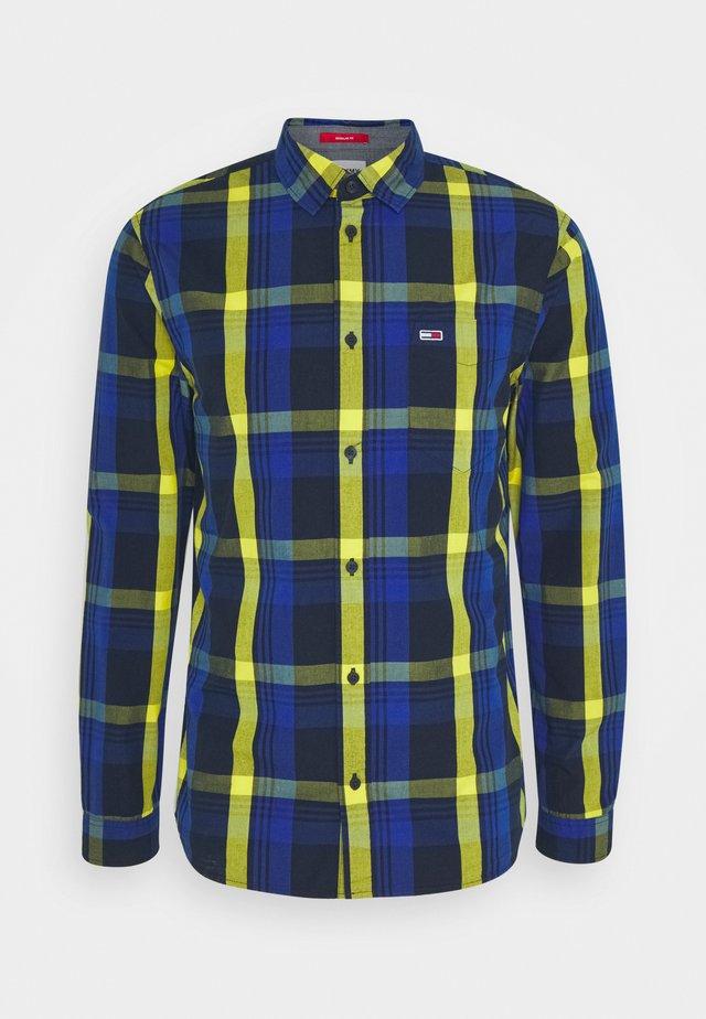 MULTICHECK SHIRT - Camisa - providence blue/multi-coloured