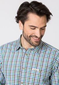 Stockerpoint - PORTOS - Shirt - green/light grey - 3
