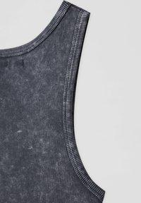 PULL&BEAR - Top - mottled dark grey - 5