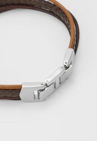 Fossil - MENS DRESS - Bracelet - brown - 2