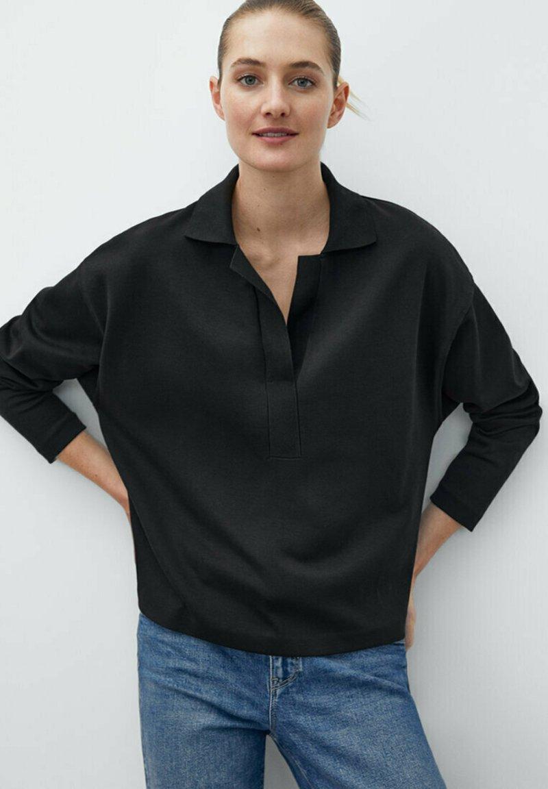 Massimo Dutti - Sweatshirt - black