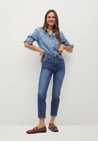 Mango - NEWMOM - Slim fit jeans - tmavě modrá - 1