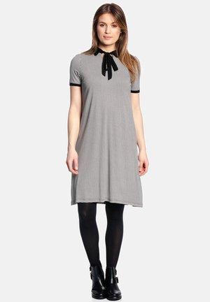 SOPHIA IN LOVE - Shirt dress - schwarz allover