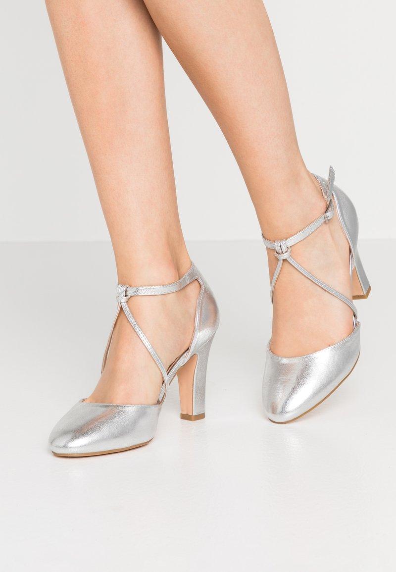 Anna Field - Escarpins à talons hauts - silver