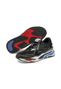 Puma - BMW MMS RS-FAST UNISEX - Sneakers - p black-marina-high risk red - 2