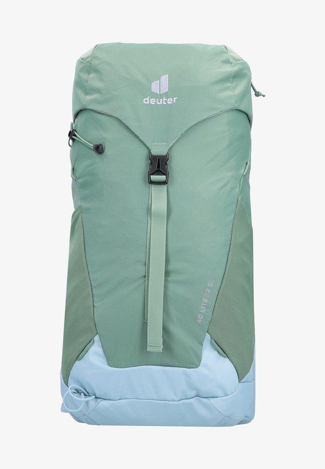 Hiking rucksack - aloe dusk