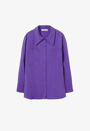 Camicia elegante - morado