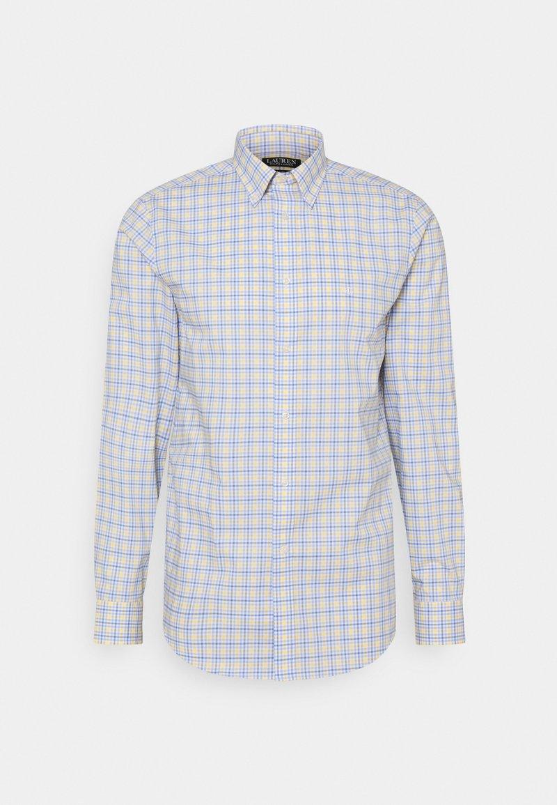 Lauren Ralph Lauren - SUPIMA STRECH REGULAR FIT - Shirt - yellow/multi
