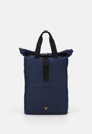 ROLL TOP BACKPACK - Rucksack - navy