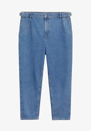 HANNAH - Trousers - mittelblau