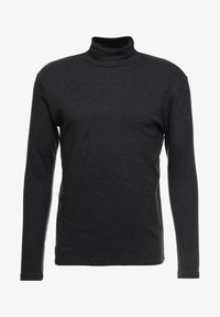 Samsøe Samsøe - MERKUR - Long sleeved top - dark grey melange - 3