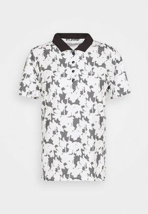BUREN PRINTED - Koszulka polo - white