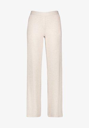 Trousers - canvas melange