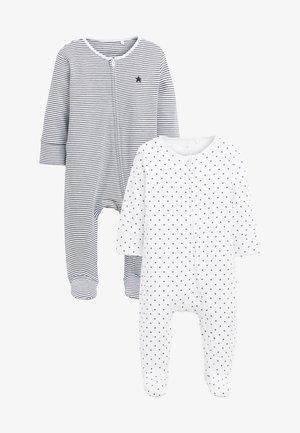 2 PACK - Sleep suit - black