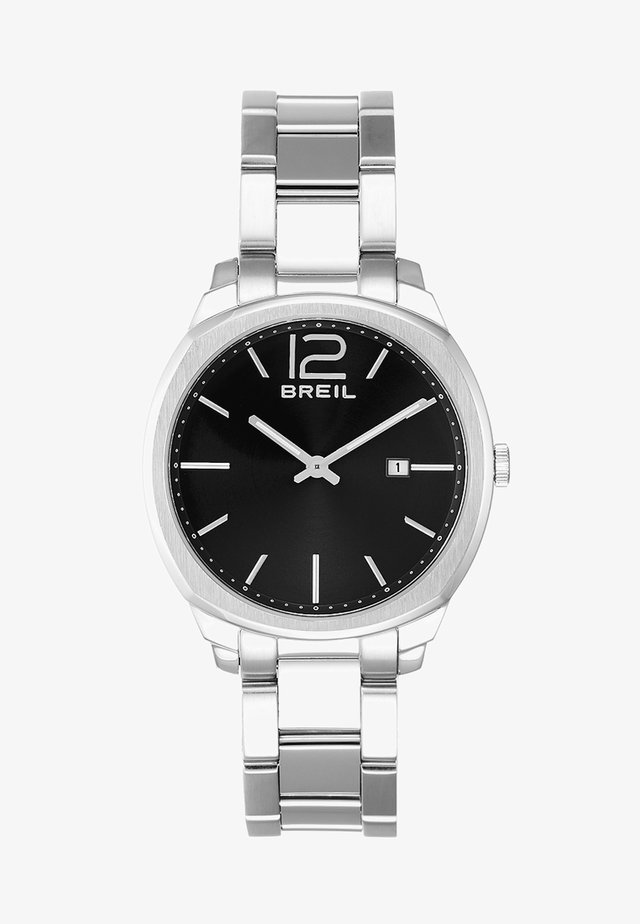 CLUBS HAND - Watch - silver-coloured/black