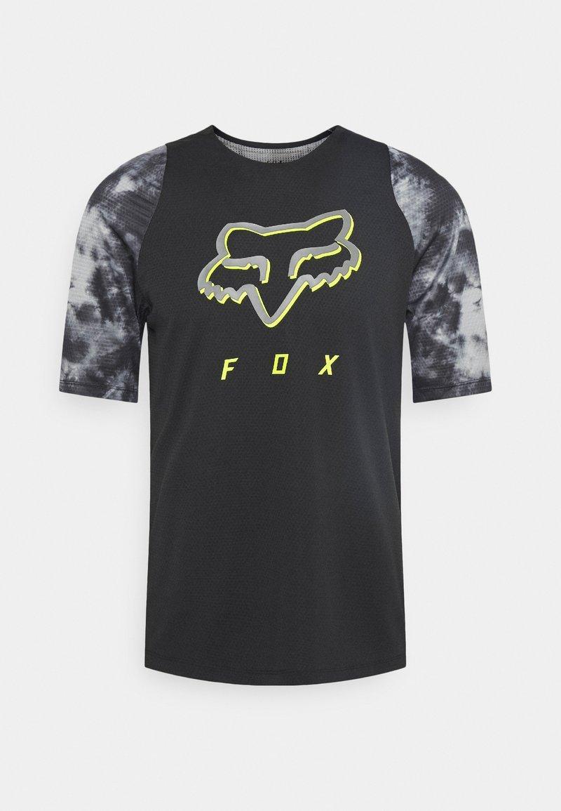 Fox Racing - DEFEND ELEVATED - Print T-shirt - black