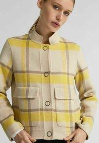 Selected Femme - KURZE - Summer jacket - sandshell - 3