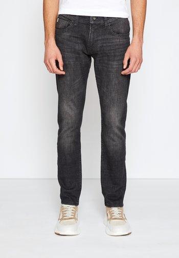 SLIM PIERS - Jeans slim fit - dark stone black denim