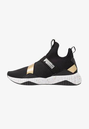 DEFY MID METAL - Sportovní boty - black/white