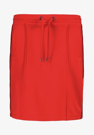 A-line skirt - goji berry
