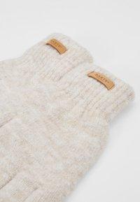 Barts - WITZIA GLOVES - Gloves - cream - 4