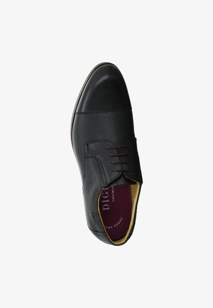 SINGLE - Smart lace-ups - schwarz