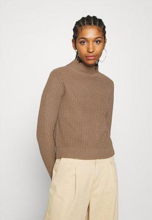 CHRYSTAL  - Strickpullover - mole beige