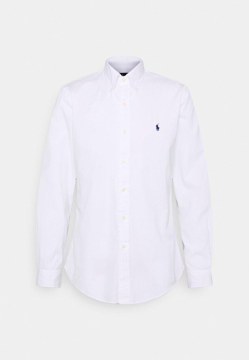 Polo Ralph Lauren - CUSTOM FIT PAINT-SPLATTER POPLIN SHIRT - Camicia - white