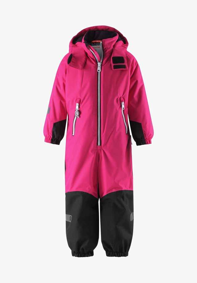 Snowsuit - raspberry pink