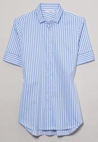 Eterna - MODERN CLASSIC - Button-down blouse - hellblau/weiß - 5