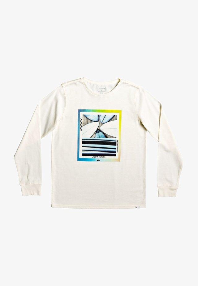 T-shirt à manches longues - antique white heather
