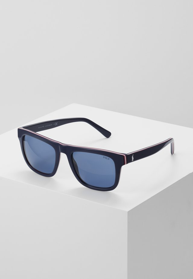 Sonnenbrille - top blue/red/white/navy