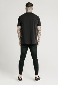 SIKSILK - SQUARE HEM TEE - T-shirt basic - black - 2