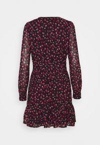 MICHAEL Michael Kors - FLORAL PRINTED MINI DRESS  - Day dress - berry - 6