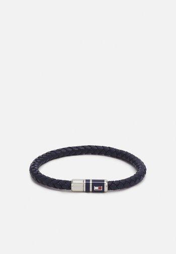 BRAIDED - Bracelet - blue