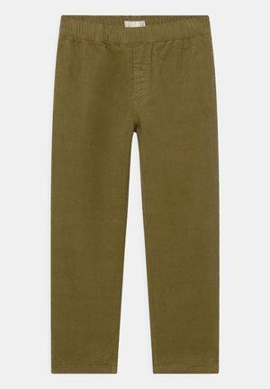 Trousers - khaki green