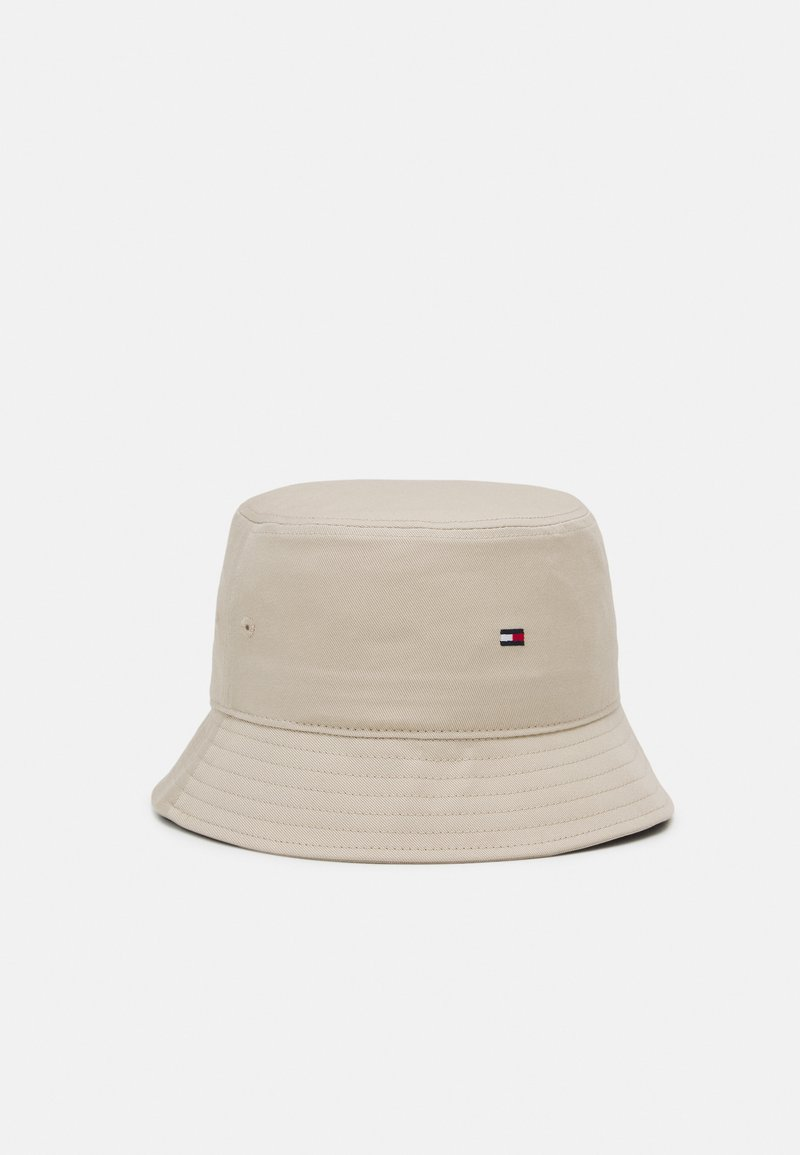 Tommy Hilfiger - FLAG BUCKET HAT - Klobouk - beige