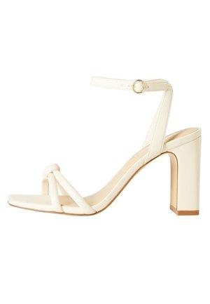 OUT - High heeled sandals - eisgrau