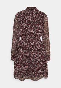 ONLY - ONLDREAM LAYERED SHORT DRESS - Day dress - black - 0
