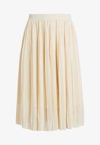 NA-KD - MIDI PLEATED SKIRT - A-line skirt - beige - 3
